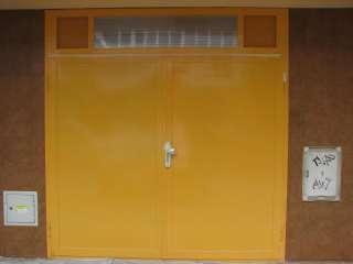 Garážová vrata DVOUKŘÍDLÁ, Barva RAL,Brno - Veveří