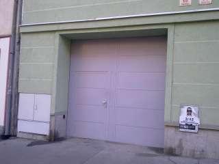 Garážová vrata DVOUKŘÍDLÁ,BÍLÁ, vstupní dveře,Brno-Pekařská
