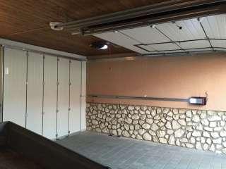 Garážová Vrata TOP - POSUVNÁ DO BOKU, pohled zevnitř
