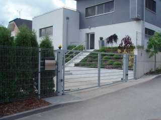 Zakázková-zámečnická výroba-oplocení,ploty,brány,branky,NYLOFOR ZN-Brno