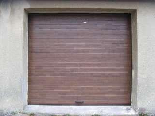 Garážová vrata sekční design LAMELA, TMAVÝ DUB, Jevíčko