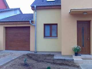 Garážová Vrata sekční design LAMELA, ZLATÝ DUB,Brno